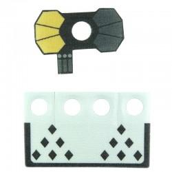 Lego Custom CapeMadness Epaulette et Kama Arc Blitz La Petite Brique