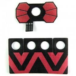 Lego Custom CapeMadness Epaulette et Kama Arc Colt La Petite Brique