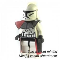 Lego Custom Minifig CAPEMADNESS Epaulette et Kama rouge (La Petite Brique)