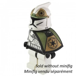 Lego Custom CAPEMADNESS minifig Star Wars Epaulette Clone Gunner (La Petite Brique)