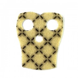 Lego Custom CAPEMADNESS minifig Epaulette beige avec coutures (La Petite Brique)