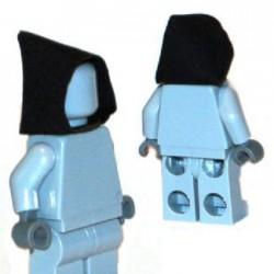 Lego Accessoires Minifigure Custom Capemadness - Capuche (Noir)
