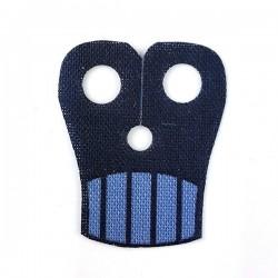 Lego Accessoires Minifigure Custom Capemadness - Epaulette Fordo (Sand Blue)
