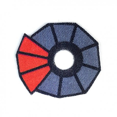 Lego Accessoires Minifigure Custom Capemadness - Epaulette Deviss (Rouge)
