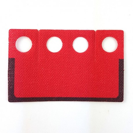 Lego Accessoires Minifigure Custom Capemadness - Kama Rouge avec bordure noire