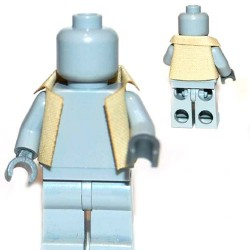 Lego Accessoires Minifigure Custom Capemadness - AR Jacket (Beige)