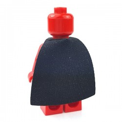 Lego Accessoires Minifigure Custom Capemadness - Cape Hybride (Noir)