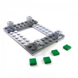 Lego Accessoires Minifigure Custom Capemadness - Toile de Tente (Camo Desert)