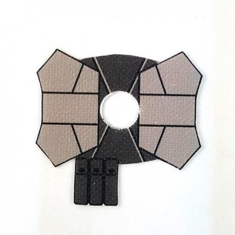Lego Accessoires Minifigure - Clone Army Customs- Shoulder Double Gris