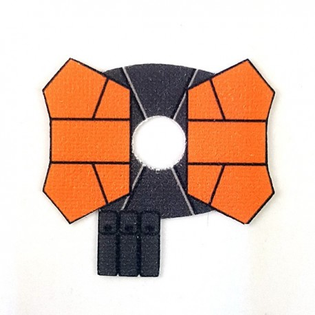 Lego Accessoires Minifigure - Clone Army Customs- Shoulder Double Orange