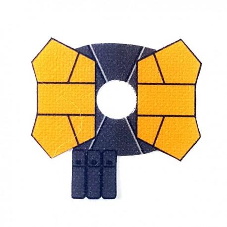 Lego Accessoires Minifigure - Clone Army Customs- Shoulder Double Jaune