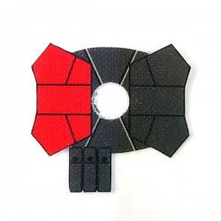 Clone Army Customs- Shoulder Cloth Pauldron Red