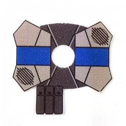 Clone Army Customs- Shoulder Cloth Pauldron Redeye