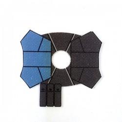 Clone Army Customs- Shoulder Pauldron Sand Blue