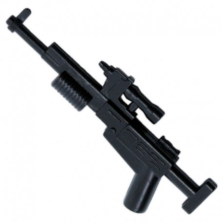 Lego Accessoires Minifigure - Clone Army Customs - Rebel Rifle (Noir)
