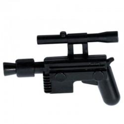 Lego Accessoires Minifigure - Clone Army Customs - Smuggler Pistol (Noir)