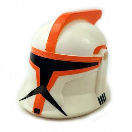 Lego Accessoires Minifigures Star Wars - Clone Army Customs - Casque CWP1 Orange