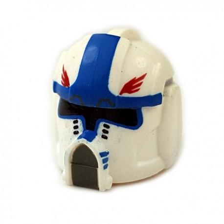 Lego Accessoires Minifigures Star Wars - Clone Army Customs - Pilot Hawk Helmet