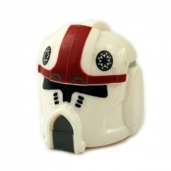Clone Army Customs - Pilot Dark Red Helmet