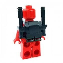 Lego Accessoires Minifigures Star Wars - Clone Army Customs - Commando Heavy Pack (Noir)