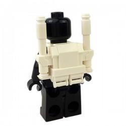 Lego Accessoires Minifigures Star Wars - Clone Army Customs - Commando Heavy Pack (Blanc)