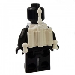 Lego Accessoires Minifigures Star Wars - Clone Army Customs - Hunter Jetpack (Blanc)
