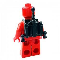 Lego Accessoires Minifigures Star Wars - Clone Army Customs - Hunter Jetpack (Noir)