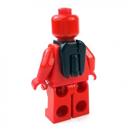 Lego Accessoires Minifigures Star Wars - Clone Army Customs - Commander Jetpack (Noir)