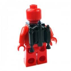 Lego Accessoires Minifigures Star Wars - Clone Army Customs - Trooper Jetpack (Noir)
