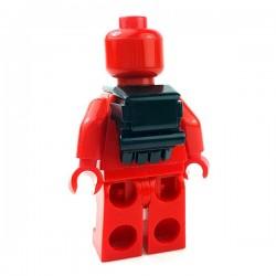 Lego Accessoires Minifigures Star Wars - Clone Army Customs - Galactic Back Pack (Noir)
