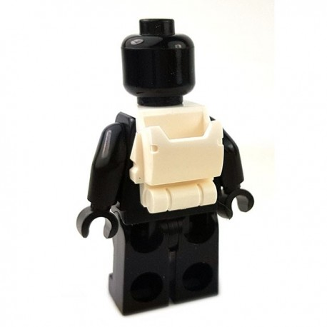 Lego Accessoires Minifigures Star Wars - Clone Army Customs - Open Back Pack (Blanc)
