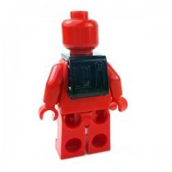 Lego Accessoires Minifigures Star Wars - Clone Army Customs - Snow Back Pack (Noir)