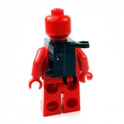 Lego Accessoires Minifigures Star Wars - Clone Army Customs - ARC Back Pack (Noir)
