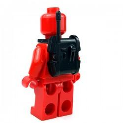 Lego Minifigure Star Wars Clone Army Customs - Ranged Back Pack (Noir)