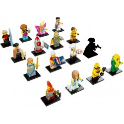 LEGO Series 17 - 16 minifigures - 71018