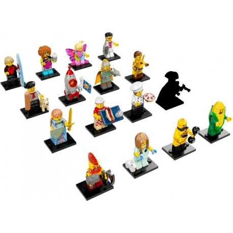 LEGO Serie 17 - 16 minifigures - 71018
