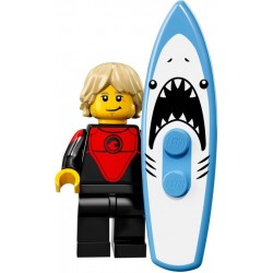 LEGO Minifig - Professional Surfer