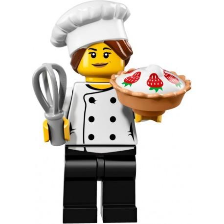 LEGO Minifig - le chef gourmet 71018 Serie 17