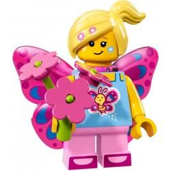 LEGO Minifig - la fille papillon 71018 Serie 17