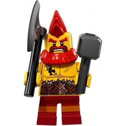 LEGO Minifig - le nain de combat 71018 Serie 17