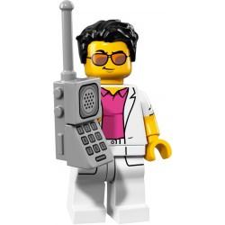 LEGO Minifig - le yuppie 71018 Serie 17