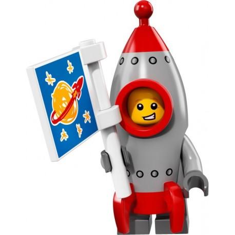 LEGO Minifig - le garçon fusée 71018 Serie 17