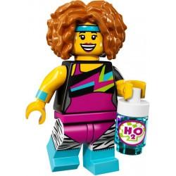 LEGO Minifig - la professeure de dance 71018 Serie 17