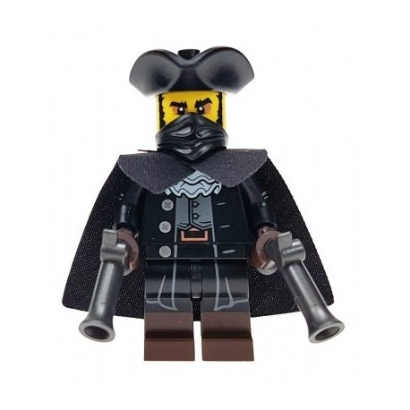 LEGO Minifig - le bandit de grand chemin 71018 Serie 17