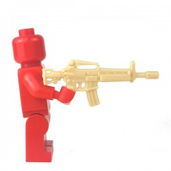 Lego Accessoires Minifigure - Si-Dan Toys - Assault Rifle T86 (Beige)