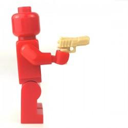 Lego Accessoires Minifigure - Si-Dan Toys - Colt Defender (Beige)