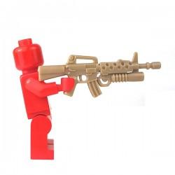 Lego Accessoires Minifigure - Si-Dan Toys - M16SB (Beige Foncé)