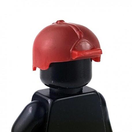 Lego Accessoires Minifigure - Si-Dan Toys - Casque PBH (Rouge Foncé)