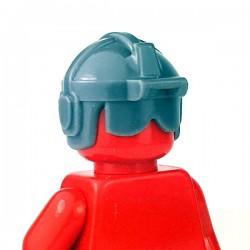 Lego Accessoires Minifigure - Si-Dan Toys - Casque USF S7 (Dark Bluish Gray)