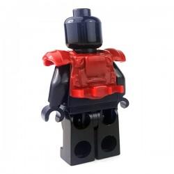 Lego Accessoires Minifigure - Si-Dan Toys - Tactical Vest USF M1a (Rouge Foncé)